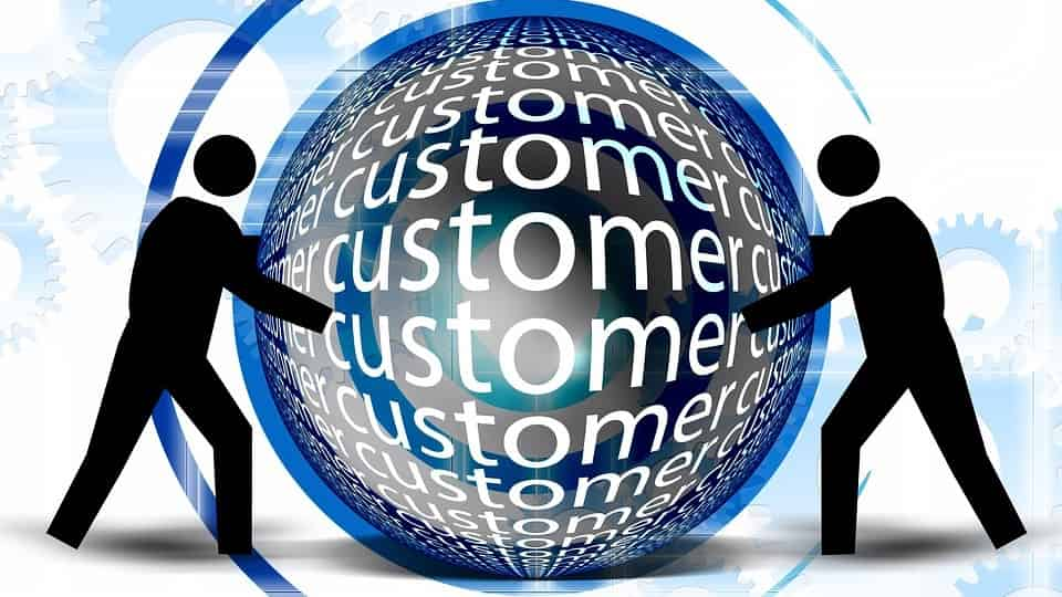 Fruitful connection with customers